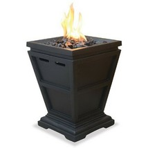 Gas Propane Outdoor Table Top Fireplace Fire Pit Heater Hearth Backyard ... - $112.02