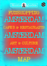 Netherlands Holland Brochure Amsterdam Map Shopping Cafes Art Culture 1998 - $3.79