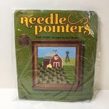"""The Farm Needlepoint Kit Needle Pointers 5"""" x 5"""" - $14.50"""