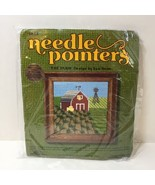 "The Farm Needlepoint Kit Needle Pointers 5"" x 5"" - $14.50"