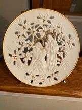 Authentic Lenox The.Holy Family Collectors Pierced Porcelain Plate1993 - $24.99