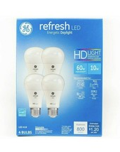 GE Refresh HD Daylight 60w Replacement LED Light Bulb General Purpose 4 ... - $12.59