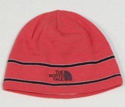 The North Face Signature Pink Wool Blend Knit Beanie Unisex One Size  NEW - $52.08 CAD