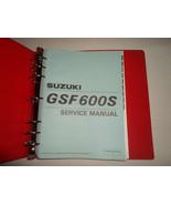 1995 Suzuki GSF600S ST Service Manual BINDER WATER DAMAGED FACTORY OEM BOOK 95 - $29.65