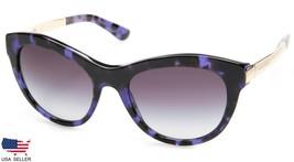 New D&G Dolce & Gabbana DG4243 2890/8G Violet Cube /GREY Lens Sunglasses Italy - $98.98
