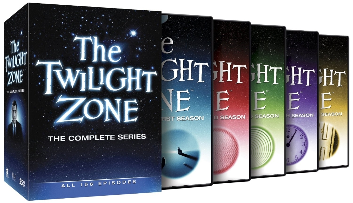 The twilight zone the complete series  dvd  2013  25 disc set  all 165 episodes