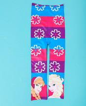 Disney Frozen Footless Tights Girls Pink Purple Blue Elsa Anna Size 4 to... - $9.85