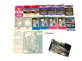 Lot of Vintage Masters Tournament Ticket Collection 1997-2003 Augusta Ephemera image 1