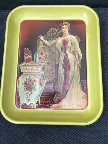 "Primary image for 1979 80th ANNIVERSARY TRAY COCA COLA Metropolitan Opera Star 13x11"" Collector #d"