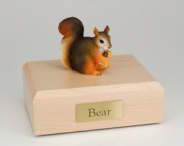SquirrelFigurine Wildlife Cremation Urn Available in 3 Diff. Colors & 4... - $169.99+