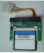 "512 Megabyte SSD Replace Vintage 3.5"" IDE Drives with 40 PIN IDE SSD Card - $24.95"