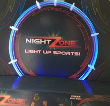NIGHT Zone LIGHT UP HOOPS - BLUE Lighted Over The Door Hoop & Ball - $17.61
