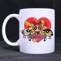 Powerpuff Girls Custom Personalized Coffee Tea White Mug - $13.99