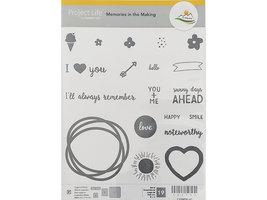 Stampin' Up! Project Life Memories in the Making Clear Stamp Set #14073 - $13.99