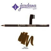 2 Pack Jordana Cosmetics Fabubrow Eyebrow Pencil 03 Dark Brown - $19.95