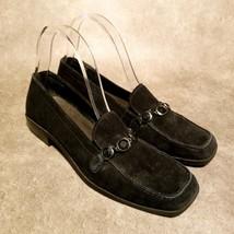 Villager by Liz Claiborne Womens Wilma  Sz 8 Black Slip On Loafers - $19.99