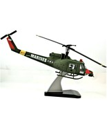 Huey Hog Metal Diecast Model Marines 1:32 Scale With Stand Free Shipping - $148.49