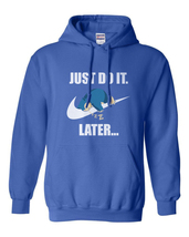 Just do it later Snorlax  Hoodie ROYAL - $31.00