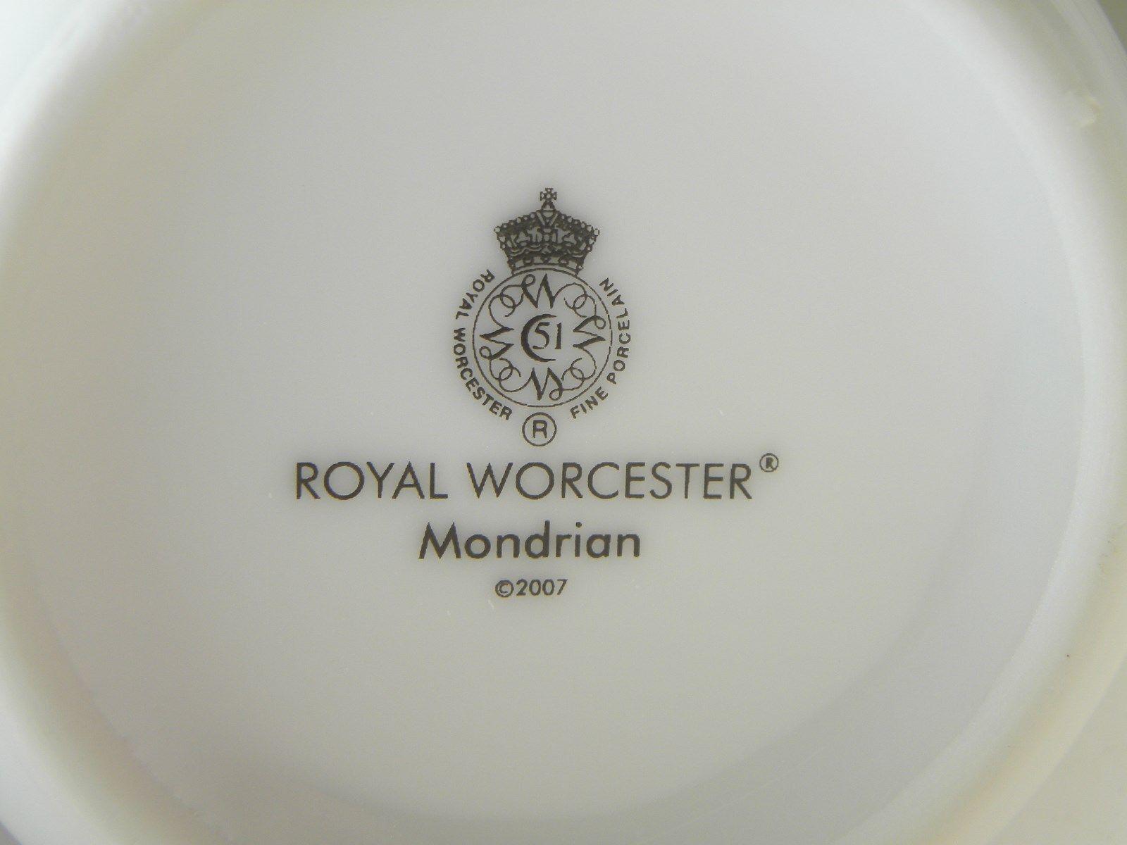 Royal Worcester Mondrian Mugs Set of 8 image 4