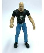 WWE Titan Tron Live Stone Cold Steve Austin Action Figure Skull Snake 1999 - $10.99