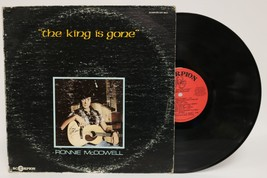 """Ronnie McDowell Signed Autographed """"The King is Gone"""" Record Album - $29.99"""
