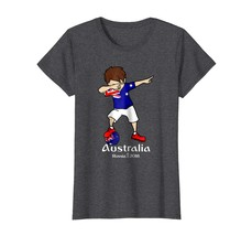 New Shirts - Funny Dabbing Soccer Boy Australia T Shirt - Football Gift ... - $19.95+