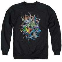 Batman - Saints And Psychos Adult Crewneck Sweatshirt Officially Licensed Appare - $29.99+