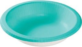20 Count Paper Bowl, 20 oz Creative Converting Touch of Color - teal - $4.94