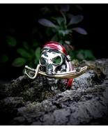 Blackbeard Pirate's Booty Spell Cast Wealth Riches Money Illuminati Ring... - $399.99