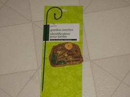 Garden Stake Stone Marker & Metal Hanger Weeds Grow Around Your Dreams - $9.21