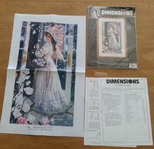 Dimensions Crewel Romance for Roses 1483 James Himsworth needlecraft handiwork - $24.74