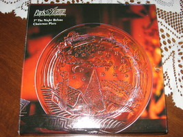 Collector Plate-The Night Before Christmas-Clear Glass-Park Avenue-Vinta... - $10.00