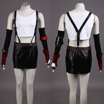 Final Fantasy Tifa Lockhart Cosplay Costume - $89.99+
