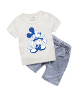 Boutique Kids clothes Summer Baby Boy Clothes Mickey toddler Boys clothing Sets  - $22.05