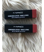 2X Authentic MAC Cosmetics Cremesheen Lipstick SWEET SAKURA New Full Size Ipsy - $19.75