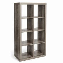 Better Homes and Garden 8-Cube Organizer Rustic Gray - $84.20