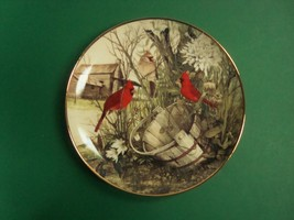 Franklin Mint Recommendations The Old Wooden Bucket Decorative Plate, Ca... - $8.99