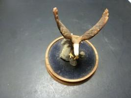 Eagle sculpture figurine Franklin Mint American Majesty #4247 - No Dome - $29.69