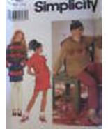 7748 Vintage Simplicity Cartamodello per Bambina Vestiti Gonna Pantaloni - $4.88