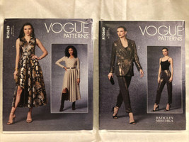 2 Vogue Patterns Misses Blazer B5(8-16) (R10640)& Misses Dress B5(8-16) ... - $19.79