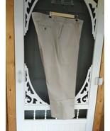 """Men's Pants """"George"""" 48x30 Flax Color  Excellent Condition - $11.99"""