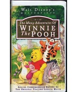 The Many Adventures of Winnie Pooh (1996) VINTAGE VHS Cassette  - $13.99