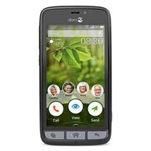 Doro 824 SmartEasy | 8GB (GSM UNLOCKED) Smartphone - Black