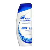 Head & Shoulders 2-In-1 Dandruff Shampoo Plus Conditioner, Classic Clean 14.2 oz - $6.72