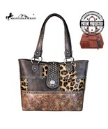 Montana West Concho Collection Safari Print Concealed Carry Bag Shoulder... - $69.95