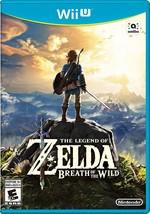 The Legend of Zelda: Breath of the Wild - Wii U NEW! - $62.27