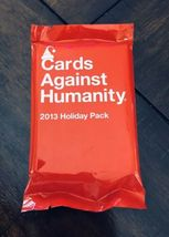 NEW Cards Against Humanity 2013 Holiday Expansion Pack Game Factory Seal... - $15.00