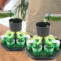 6 glasses original liquor dispenser for private parties or professional use - $22.45+