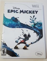 Disney Epic Mickey - Nintendo Wii Video Game 2010 CIB Complete - €12,12 EUR