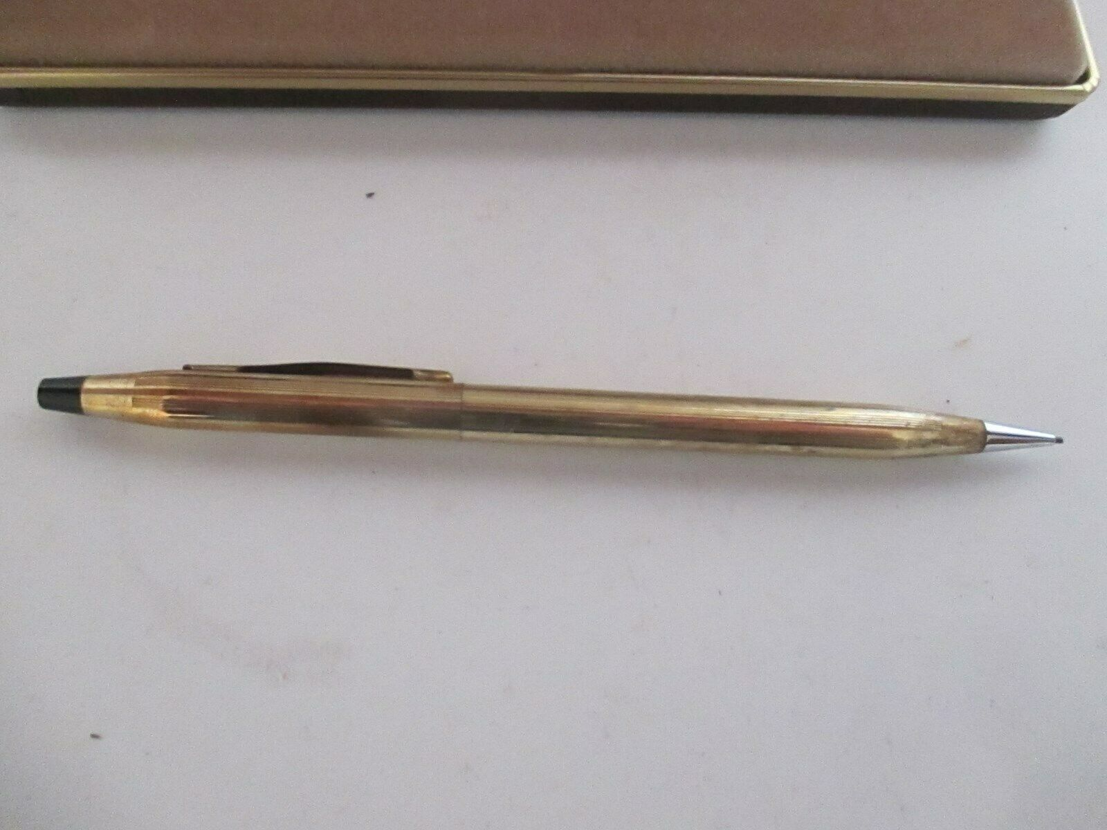 VINTAGE CROSS MECHANICAL PENCIL 1/20 10k Gold Filled Goodyear Blood Donor
